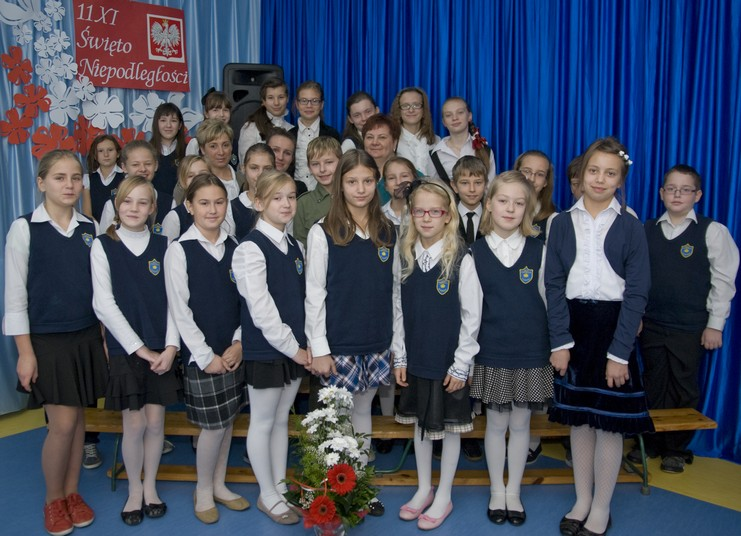 Obchody Święta Niepodległości w SP w Białobrzegach
