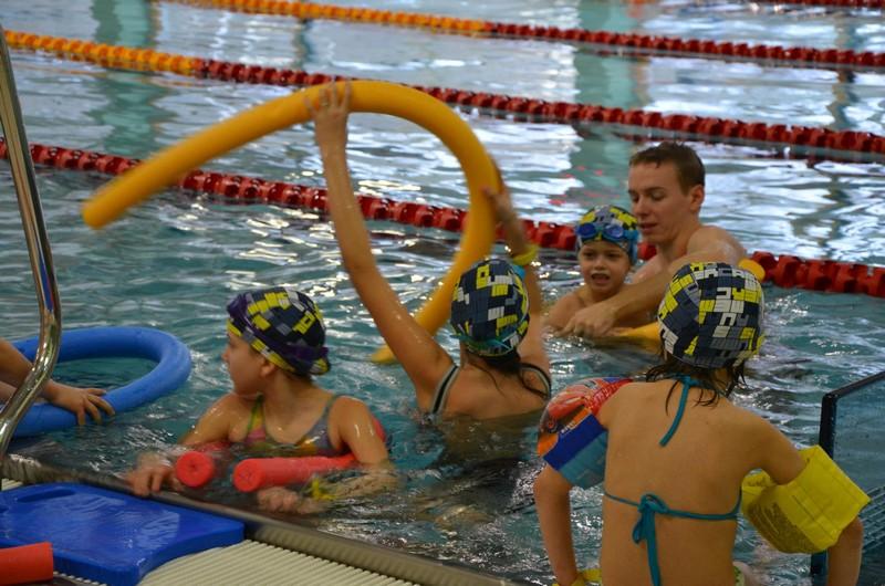 Lekcje pływania z Kapitanem Wyderką