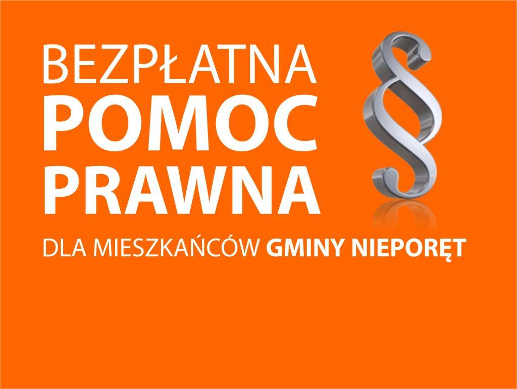 Bezpłatna pomoc prawna dla mieszkańców Gminy Nieporęt