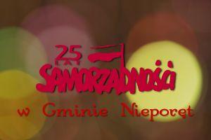 Kadr z filmu: 25 lat Samorządności w Gminie Nieporęt