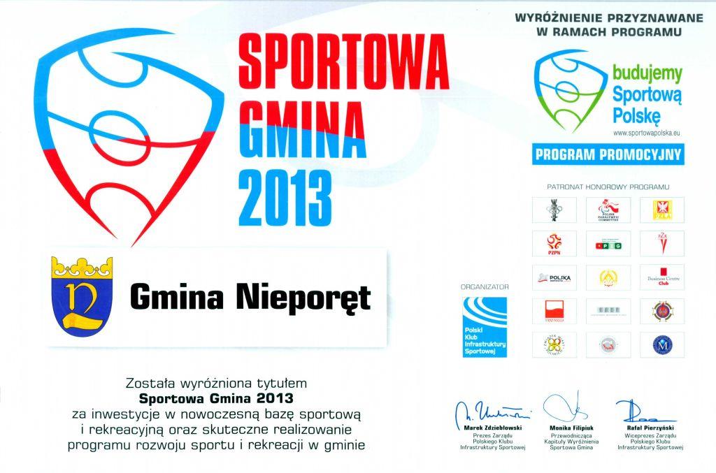 Sportowa Gmina 2013