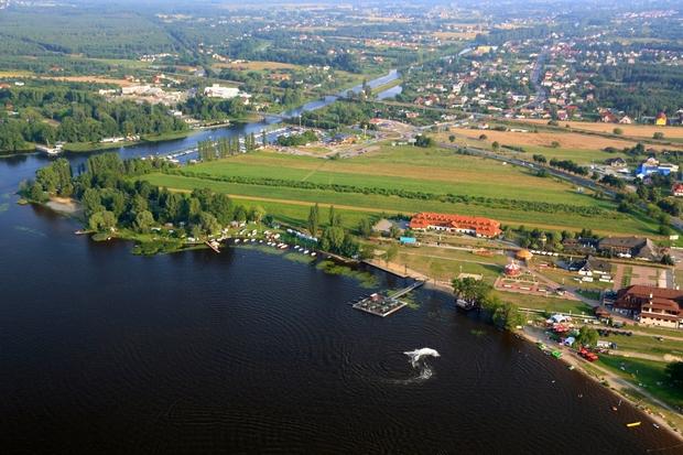 Zdjęcie lotnicze gminy