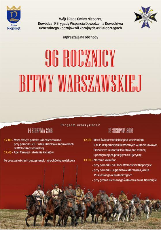 bitwa warszawska plakat