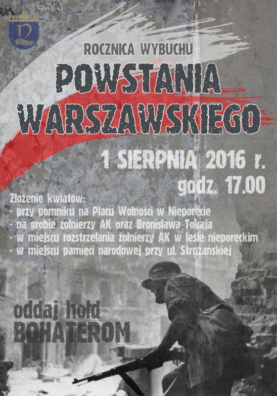 powstanie warszawskie plakat