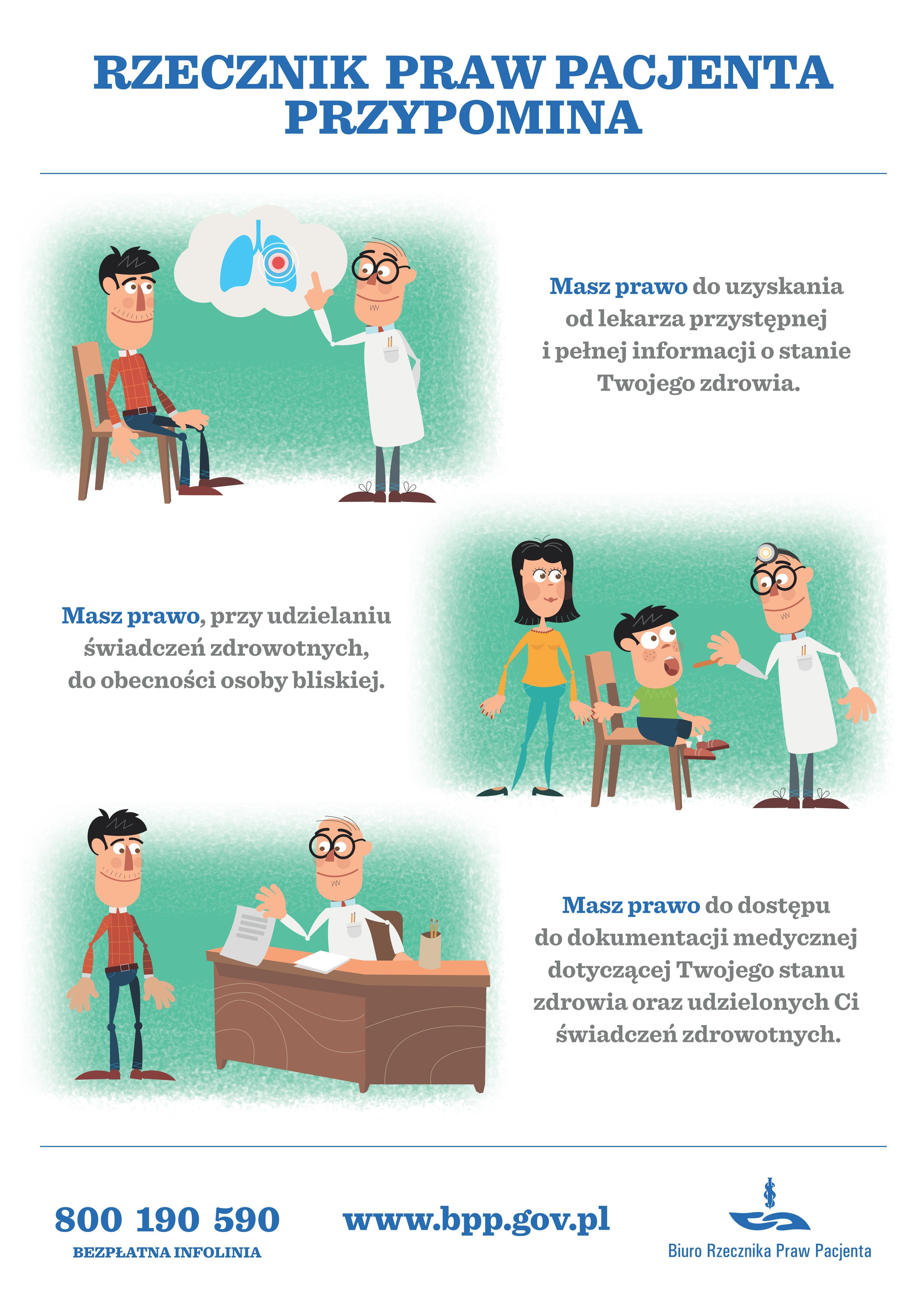 przcznik praw pacjenta