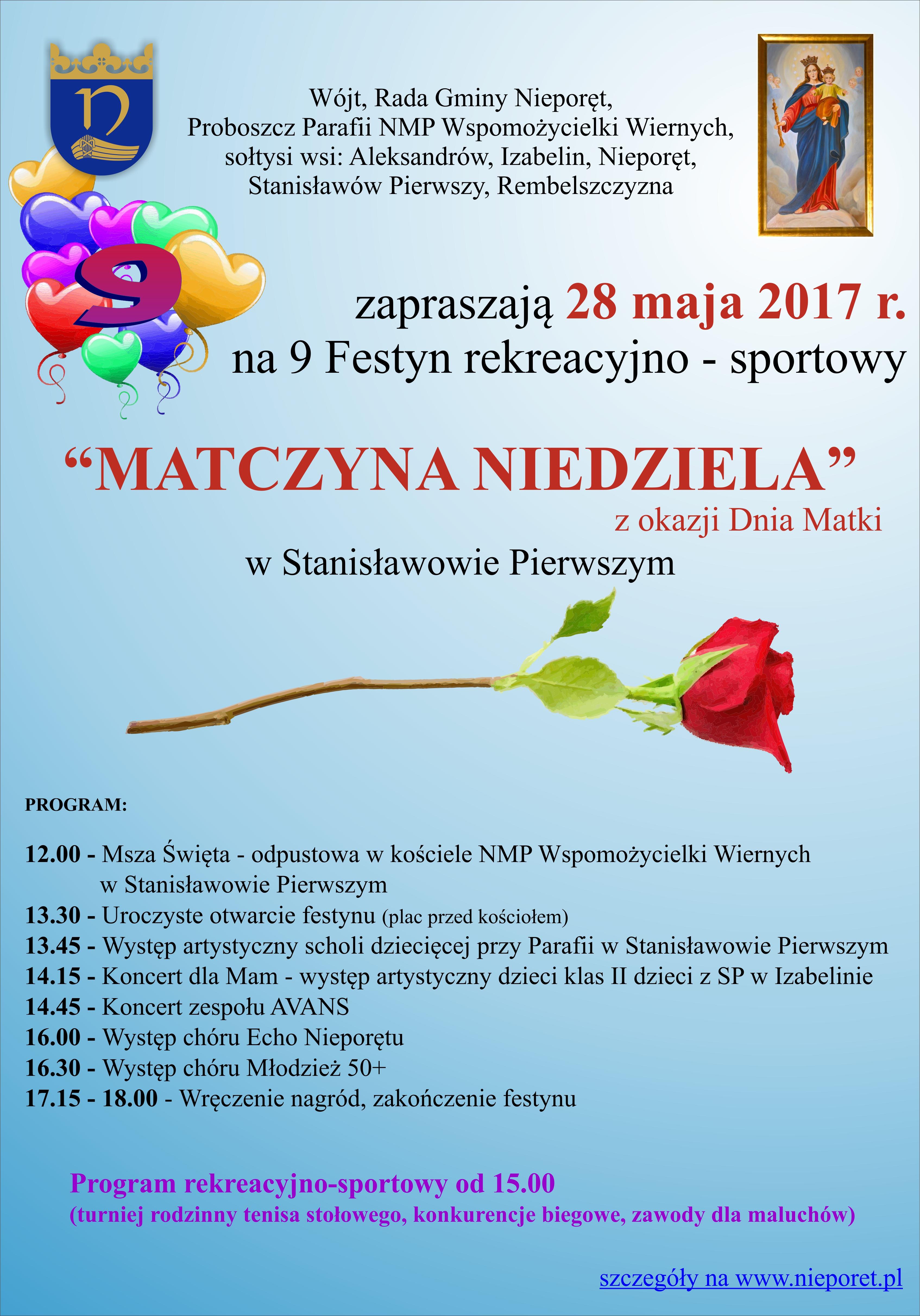 plakat_matczyna niedziela
