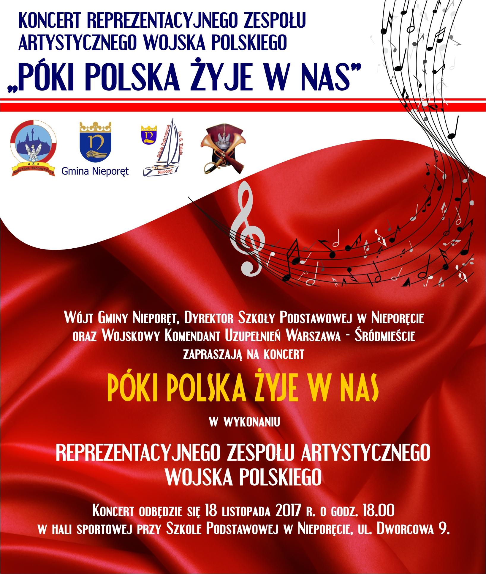 koncert wojskowy plakat