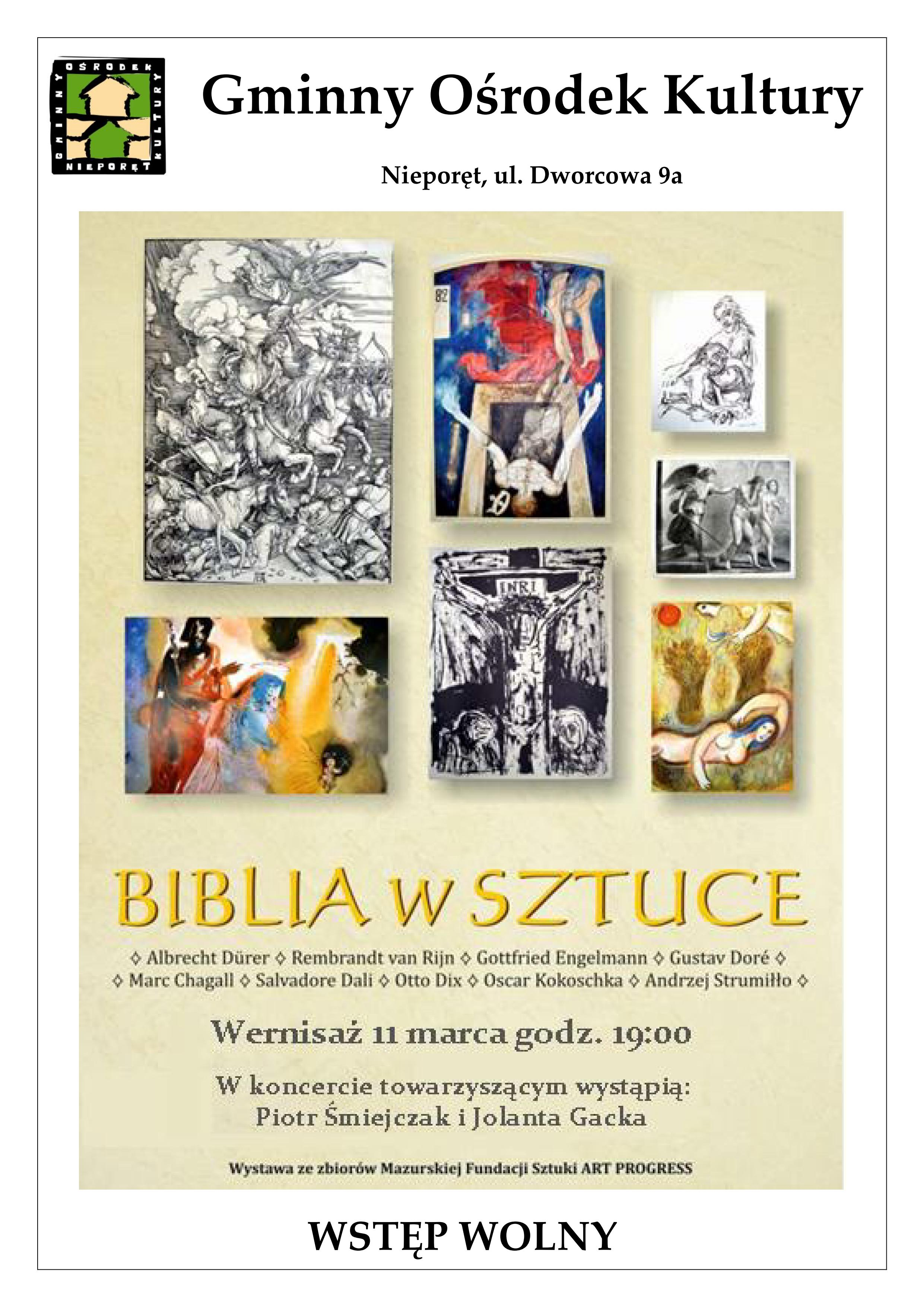 biblia w sztuce