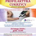 Profilaktyka cukrzycy – spotkanie informacyjne