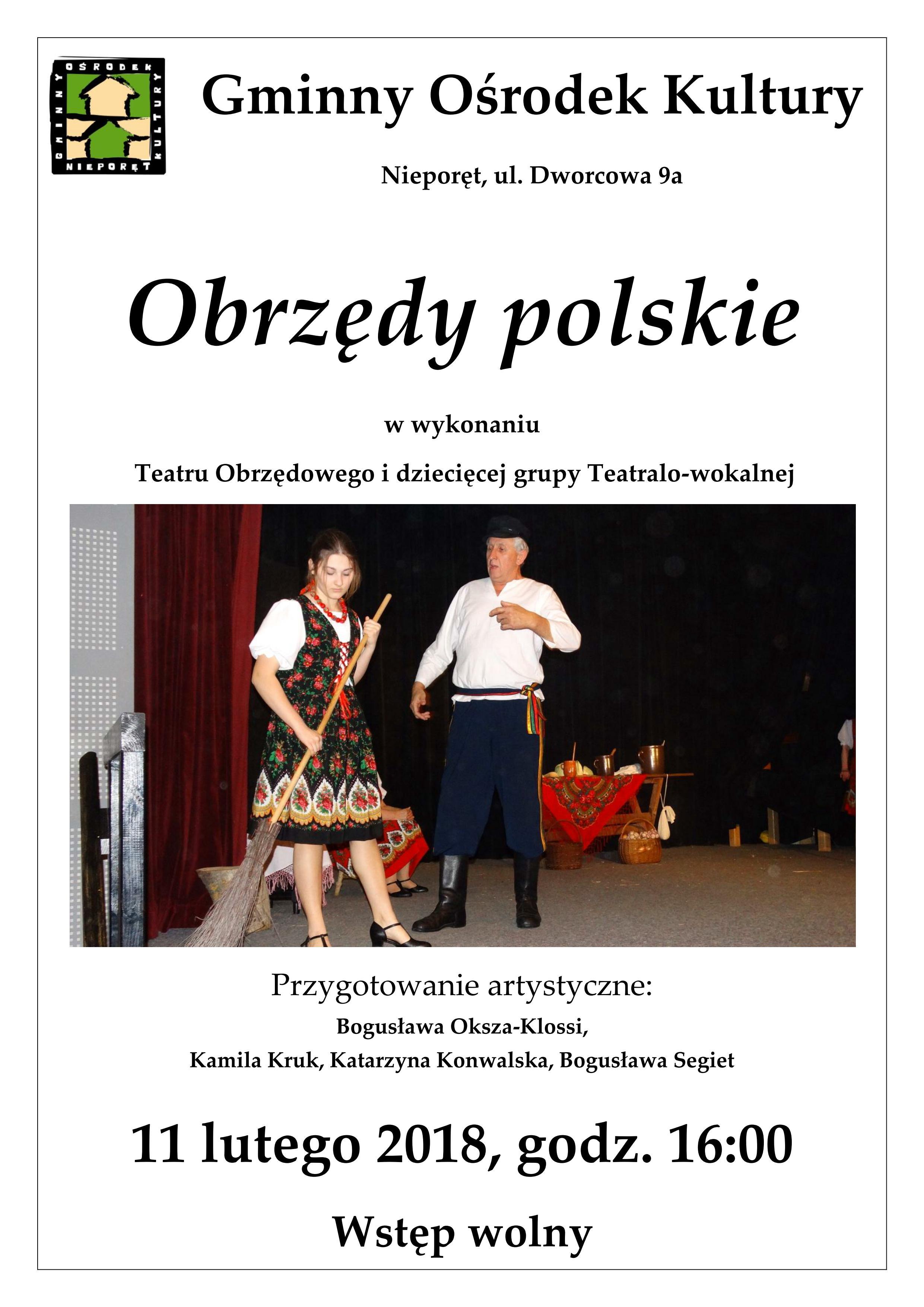 obrzedy polskie