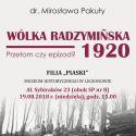 Muzeum Historyczne w Legionowie -prelekcja dr.Mirosławy Pakuły