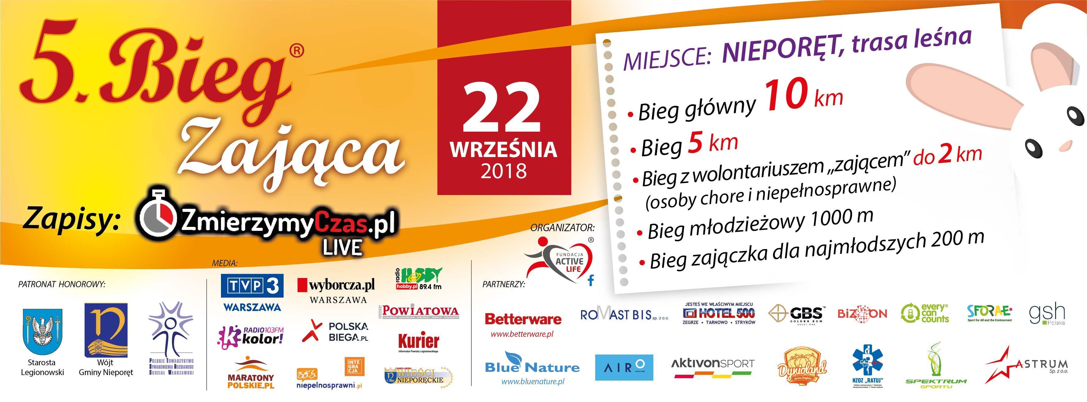 BIEG ZAJĄCA 5 - baner www