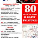 80.rocznica wybuchu II Wojny Światowej