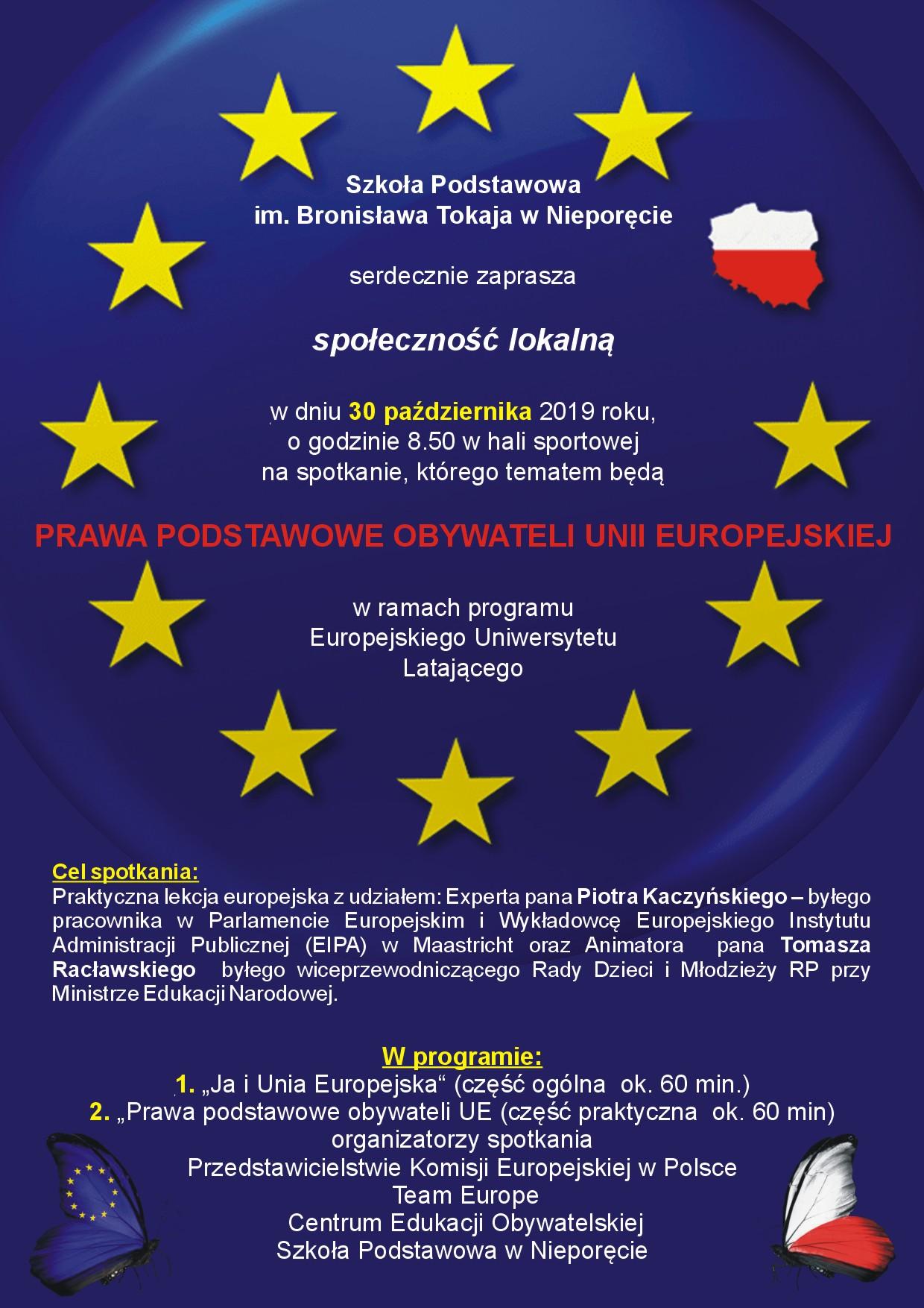 zaproszenie unia